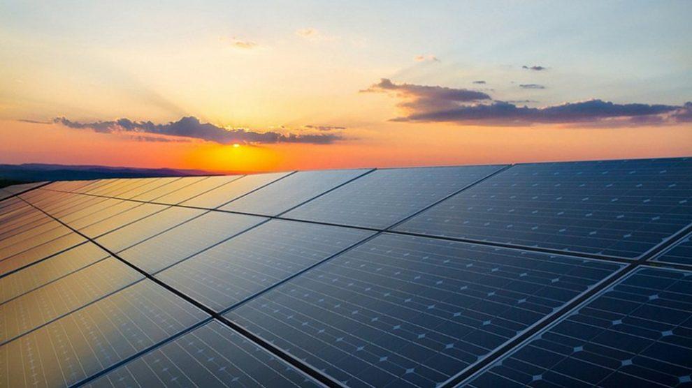 Solar power plant - cleanbuild