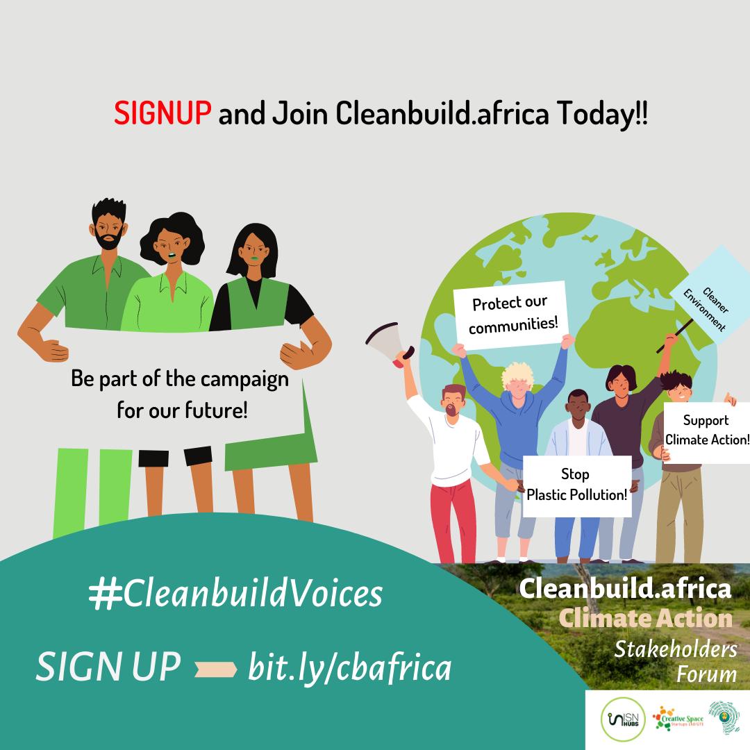 cleanbuildafrica volunteers